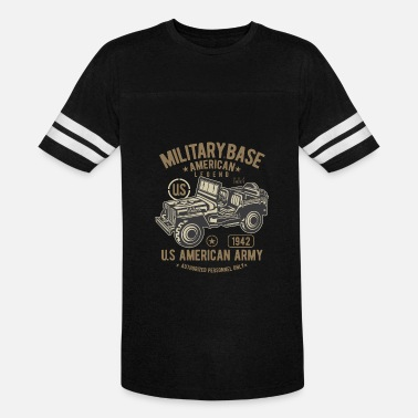 Army Jeep American Army Jeep - Vintage Sport T-Shirt
