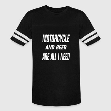 Motorcycle Beer Motorcycle and Beer are all i need - Vintage Sport T-Shirt