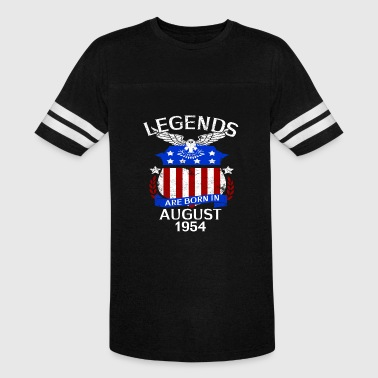 August 1954 Legends Are Born In August 1954 - Vintage Sport T-Shirt
