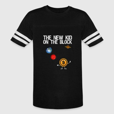 bitcoin - the new kid on the block planets - Vintage Sport T-Shirt