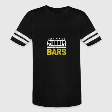 Life Behind Bars-Jeep - Vintage Sport T-Shirt