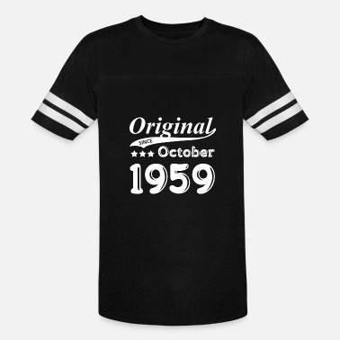 October 1959 Original Since October 1959 Gift - Vintage Sport T-Shirt