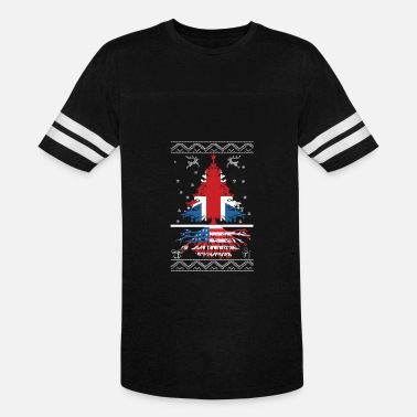 American British British with American root - Vintage Sport T-Shirt