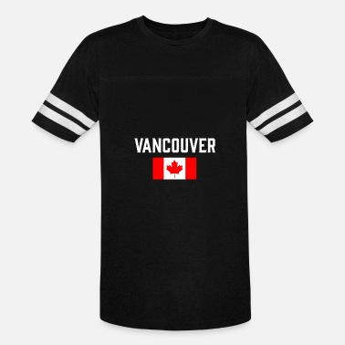 Vancouver Canada Vancouver Canada Flag British Columbia Canadian - Vintage Sport T-Shirt