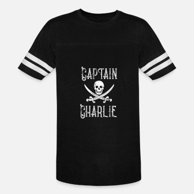 Personalized Pirate Personalized Pirate Shirt Vintage Pirates Shirt Personal Name Pirate TShirt Captain Charlie - Unisex Vintage Sport T-Shirt