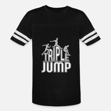 Sport Event triple jump event sports gift idea - Vintage Sport T-Shirt