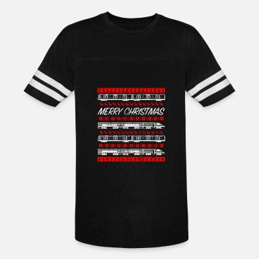 Railway Station Railway model Christmas - Unisex Vintage Sport T-Shirt