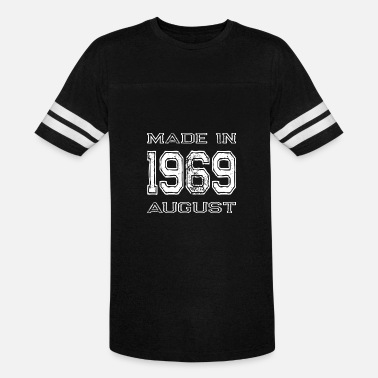 1969 August Birthday Made in 1969 August - Vintage Sport T-Shirt