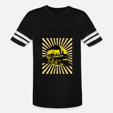 Steam Locomotive Steam locomotive - Vintage Sport T-Shirt