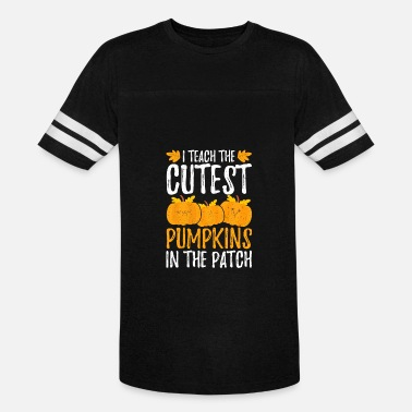 Cutest I Teach the Cutest Pumpkins in the Patch - Vintage Sport T-Shirt