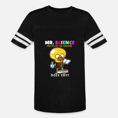 Mr Universe Mr. Science Scientist Master Universe Teacher Gift - Vintage Sport T-Shirt