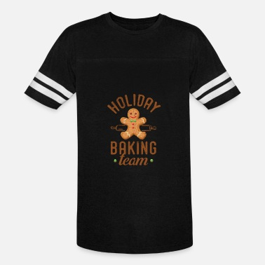 Funny Holiday Holiday Baking Team Funny Christmas Holiday Design - Vintage Sport T-Shirt