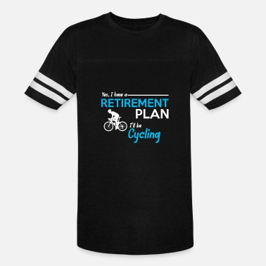 Try To Keep Up Cycling - Unisex Vintage Sport T-Shirt
