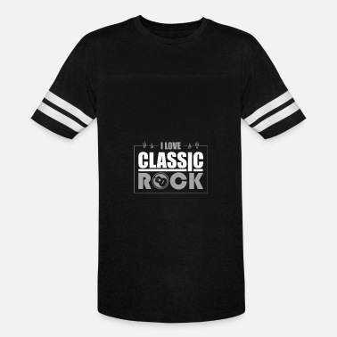 Alternative I Love Classic Rock Song Music Geek Vector - Vintage Sport T-Shirt