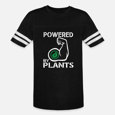 1382d832 Vegan Powered By Plants - Strong Vegan Shirt for Bodybuilders - Unisex  Vintage Sport T-
