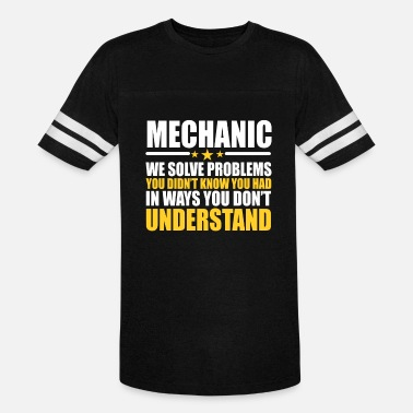 Sayings Mechanic Mechanic Gift Problem Solver Saying - Vintage Sport T-Shirt