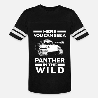 Panther Tank Panzer/Tank/Panther/Military/Wild/Present/Gift - Unisex Vintage Sport T-Shirt