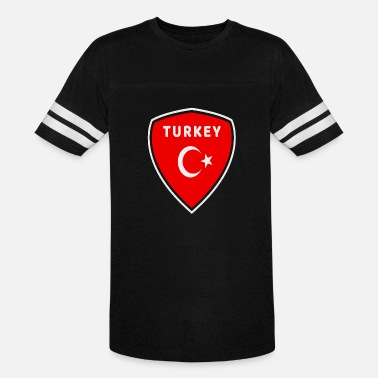 Erdogan Turkey Emblem / National Flag / Present Gift - Unisex Vintage Sport T-Shirt