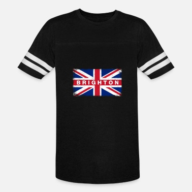 I Love Brighton Brighton Shirt Vintage United Kingdom Flag T-Shirt - Vintage Sport T-Shirt