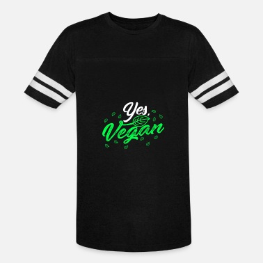 Yes Vegan (Gift) Yes, Vegan - Vintage Sport T-Shirt