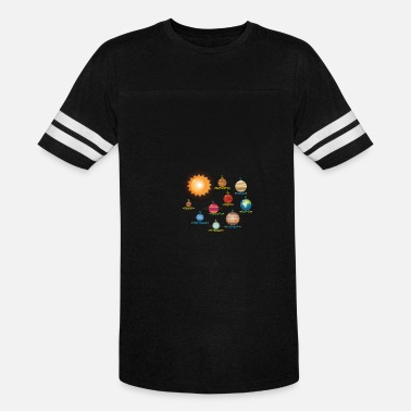 Solar System Kids Solar System Planets Science | Educational - Vintage Sport T-Shirt