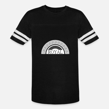 Royal House Royal Design - Royal - Unisex Vintage Sport T-Shirt