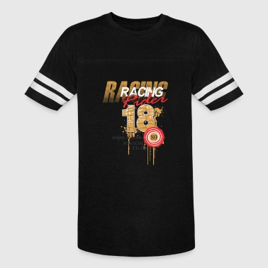 Template Design Racing Rider - Vintage Sport T-Shirt