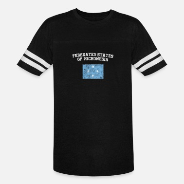 Federal State The federated States of Micronesia Flag Shirt - V - Vintage Sport T-Shirt