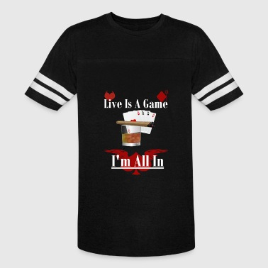 No Limit Full House Poker, Jack, Player, Casino,Vegas,cash,flush,bluff - Vintage Sport T-Shirt