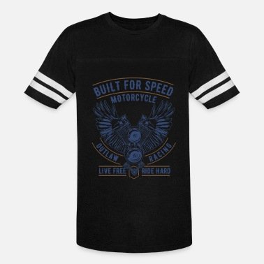 Outlaw Racing Built For Speed Motorcycle Outlaw Racing - Vintage Sport T-Shirt