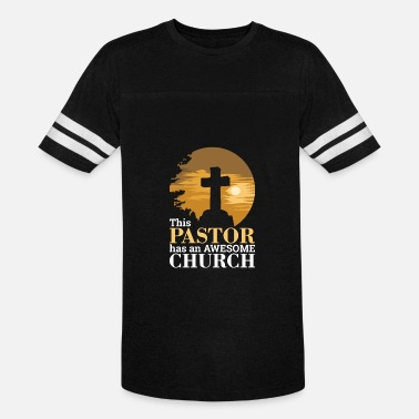 Awesome A Pastor CHRISTIANITY: Awesome Church Pastor - Vintage Sport T-Shirt