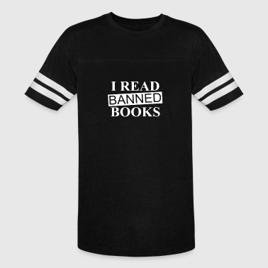 I Read Banned Book - Vintage Sport T-Shirt