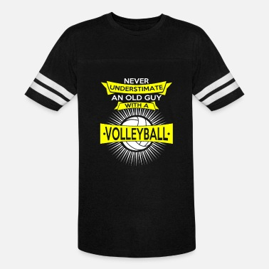 Playing Volleyball Volleyball Volleyball Playing Volleyball Volleyballer Gift - Vintage Sport T-Shirt