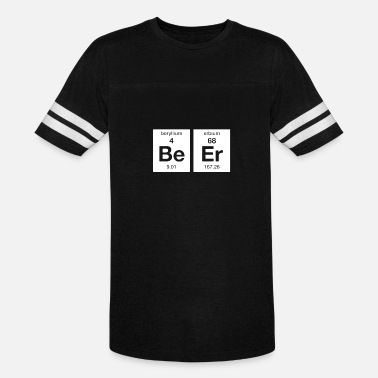 Periodic The Element of Beer College Science Periodic Table - Unisex Vintage Sport T-Shirt