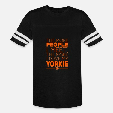 Meeting People The More People I Meet - Vintage Sport T-Shirt