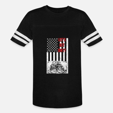 Flags Porn Offroad - Let's get dirty flag - Vintage Sport T-Shirt