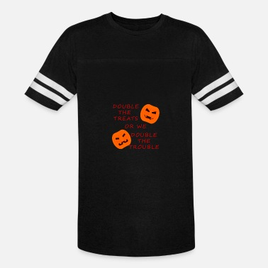 Double Twins twins DOUBLE TREAT halloween 2017 - Vintage Sport T-Shirt