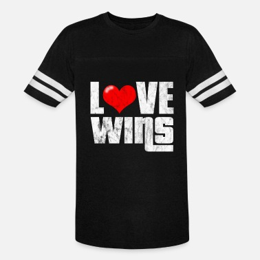 Love wins - Unisex Vintage Sport T-Shirt