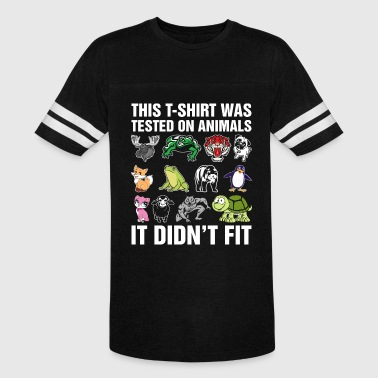 This Tshirt Was Tested On Animals - Vintage Sport T-Shirt
