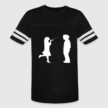 Flying Kiss - Vintage Sport T-Shirt