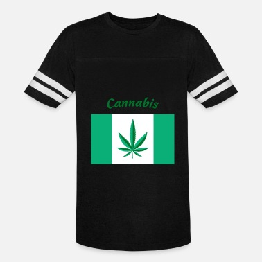 Flags Cannabis Canada Cannabis flag - Vintage Sport T-Shirt