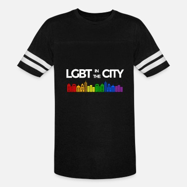 Gay Cities LGBT in the City Gay Pride - Vintage Sport T-Shirt