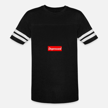 Depression Depressed - Vintage Sport T-Shirt