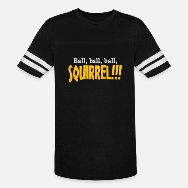 Fire Ball Ball Ball Ball Squirrel - Unisex Vintage Sport T-Shirt