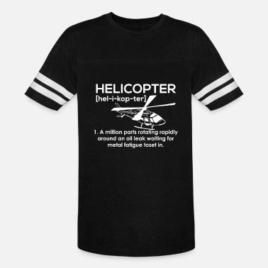 Helicopter Clothing Helicopter - Vintage Sport T-Shirt