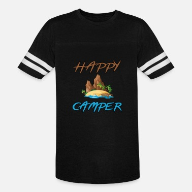 Personalized Happy Camper HAPPY CAMPER Tshirt - Vintage Sport T-Shirt