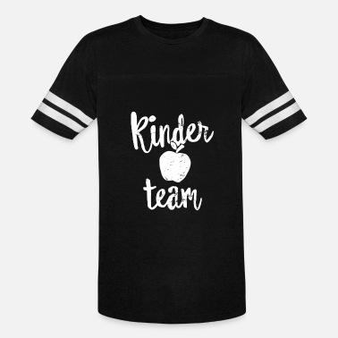 Kinder Kinder Team Shirt Kindergarten Teacher First Day of School - Vintage Sport T-Shirt