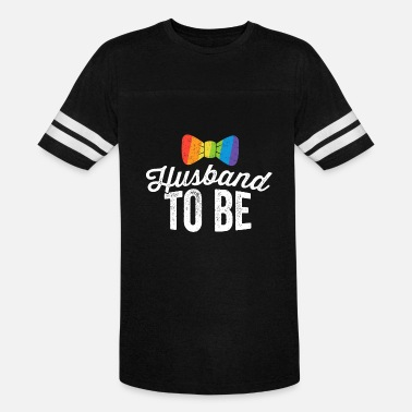 Gay Bachelor Party Husband To Be Shirt LGBT Pride Gay Wedding Bachelor Gift - Unisex Vintage Sport T-Shirt