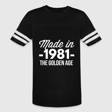 Made in 1981 the golden age - Vintage Sport T-Shirt