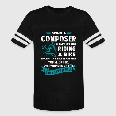 Being A Composer Being A Composer Is Easy Shirt - Vintage Sport T-Shirt